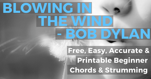 Blowing In The Wind Chords Pic