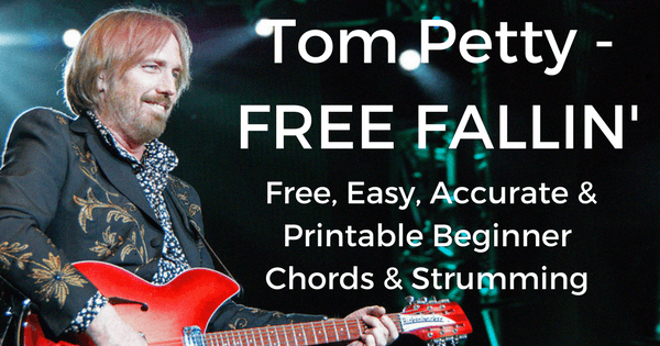Tom Petty Free Fallin Chords Played Live