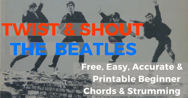 Twist And Shout Chords Live