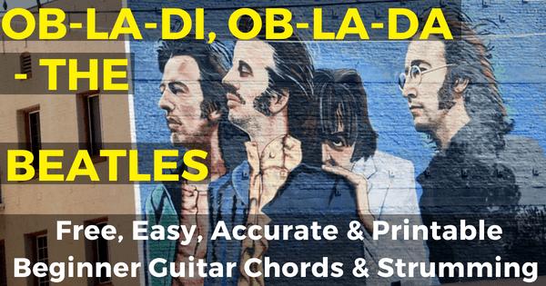 The Beatles Ob-La-Di,Ob-La-Da Chords