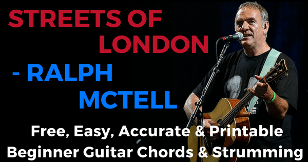 Ralph McTell, Streets Of London Chords