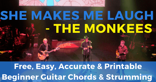 The Monkees, She Makes Me Laugh Chords